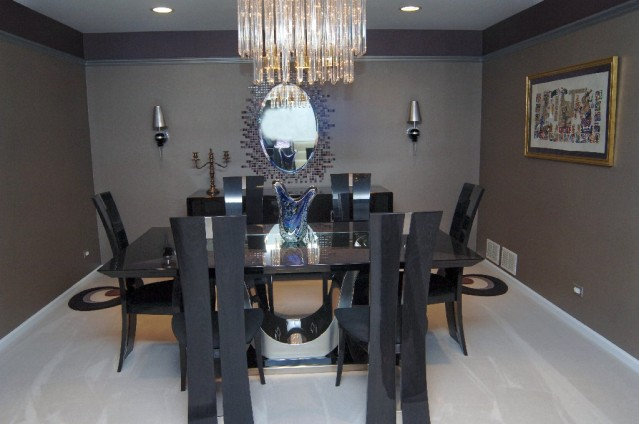 Dining Room black detail