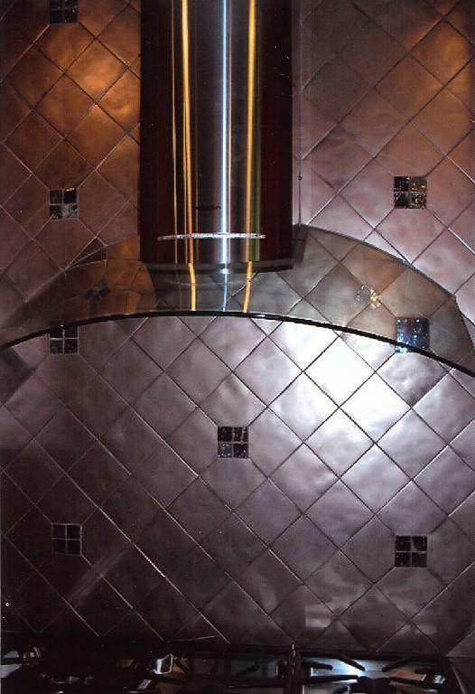 Kitchen back splash detail