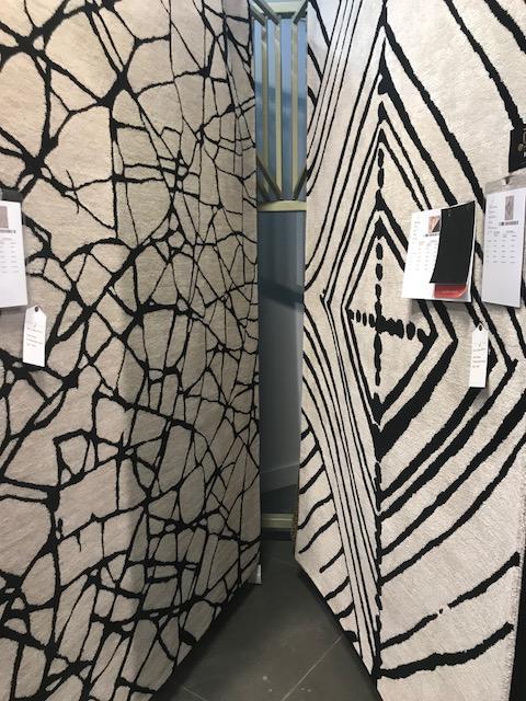 Black & White rugs jaipur HPMKT 2018