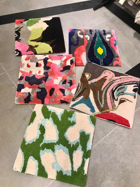 Kate Spade colorful rugs HPMKT 2018